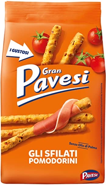 Pavesi Breadistick with cherry tomatoes