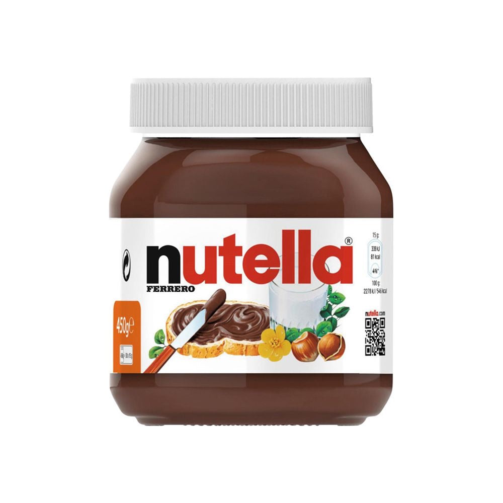 Nutella Ferrero 450g Made in Italy