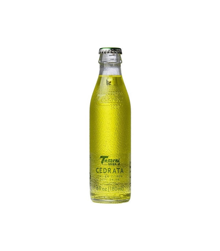 Cedrata Tassoni Soda, one single bottle