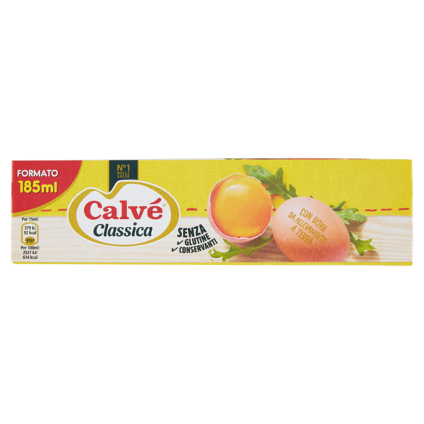 Calvè mayonnaise 185ml maionese