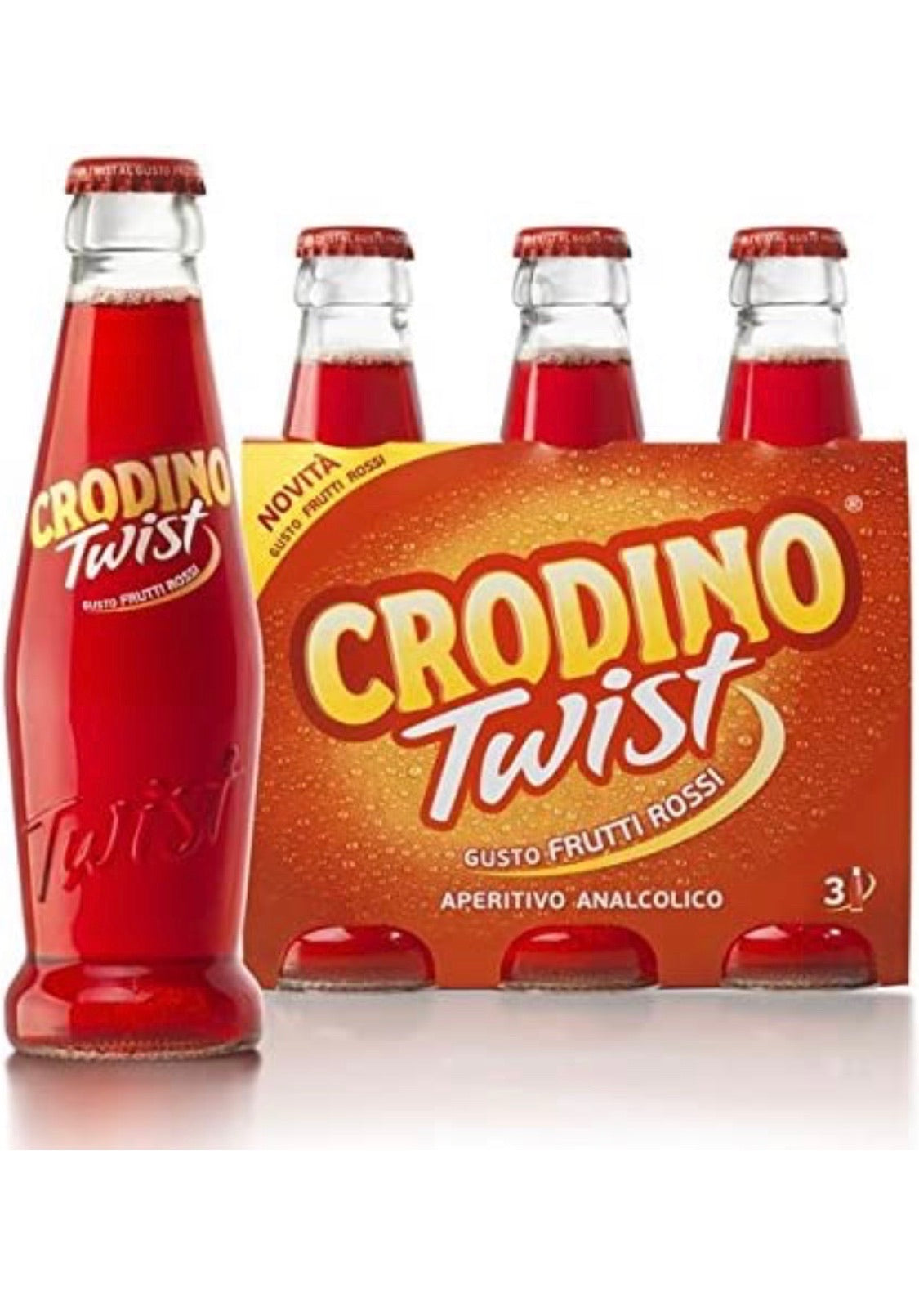 Crodino Twist Red Fruits 3x17,5cl