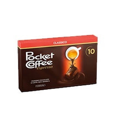 10 pcs Pocket Coffee Ferrero