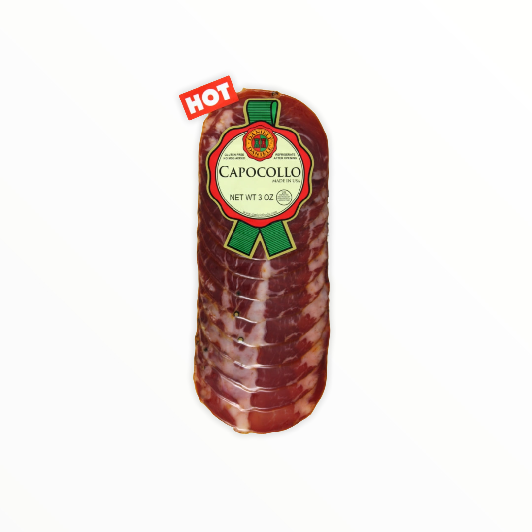 Daniele Hot Capocollo 3oz.