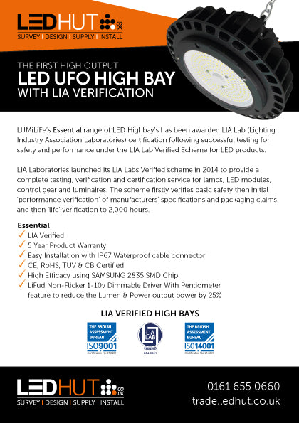 Essential LED High Bays Release