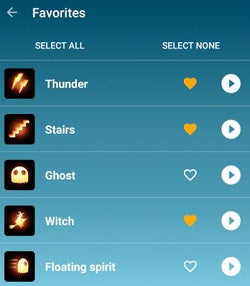 hue halloween android app 1