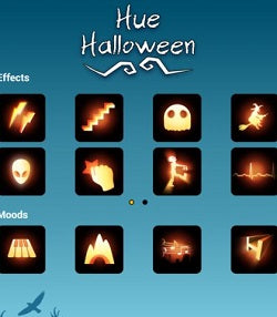 hue halloween android app 2