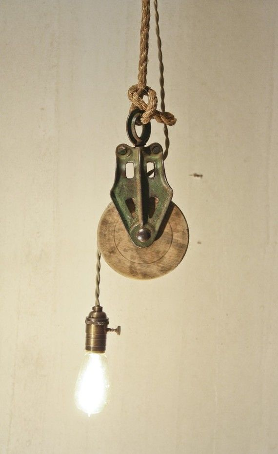 pulley-ceiling light