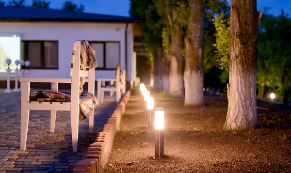 wireless garden path lights