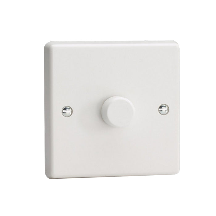 Varilight V-Pro LED Dimmer Switch - 1 Gang 2 Way - White