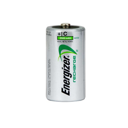 Energizer Power Plus C Batteries - Rechargeable - 2 Pack