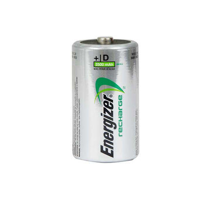 Energizer Power Plus D Batteries - Rechargeable - 2 Pack