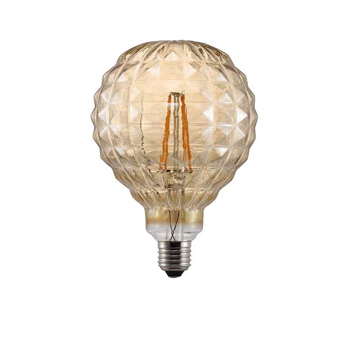 Nordlux 2W E27 Square Filament LED - 140lm - 2200K - Amber - Non Dimmable