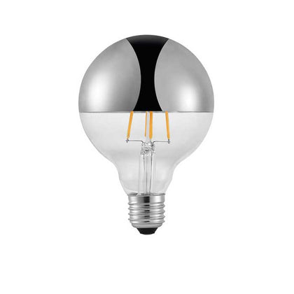Nordlux 2W E27 Top Filament LED - 180lm - 2200K - Clear (Silver) - Non Dimmable