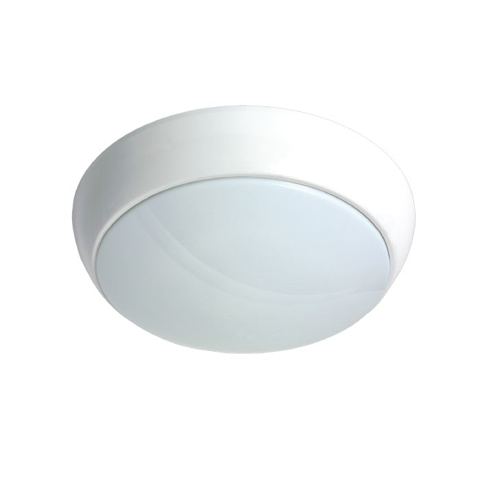 15W 2D LED Bulkhead - 1270lm - 5000K - Emergency & Microwave