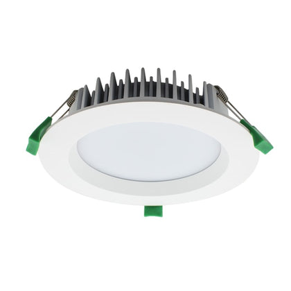 18W LED Downlight - 1360lm - 2700K - Dimmable - White