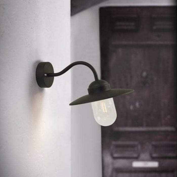 Nordlux Luxembourg Outdoor Wall Light Fixture - Black