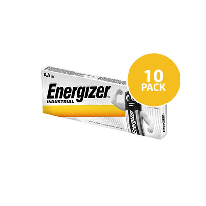 Energizer Industrial - AA Batteries - 10 Pack