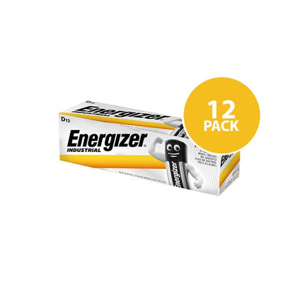 Energizer Industrial - D Batteries - 12 Pack