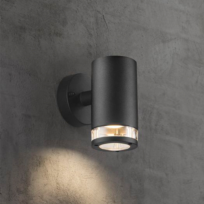 Nordlux Birk Outdoor Wall Light Fixture - Black