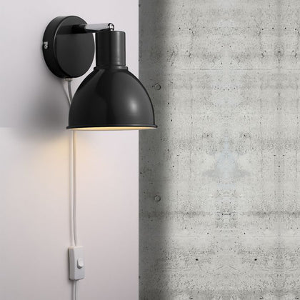 Nordlux Pop Wall Light Fixture - Black