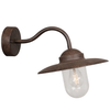 Nordlux Luxembourg Outdoor Wall Light Fixture - Rost