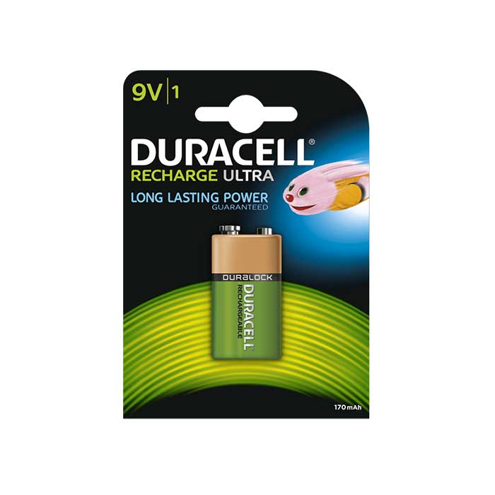 Duracell Recharge Ultra 9V Battery - Rechargeable