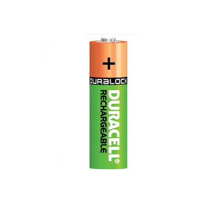 Duracell Recharge Plus AA Batteries - Rechargeable - 4 Pack
