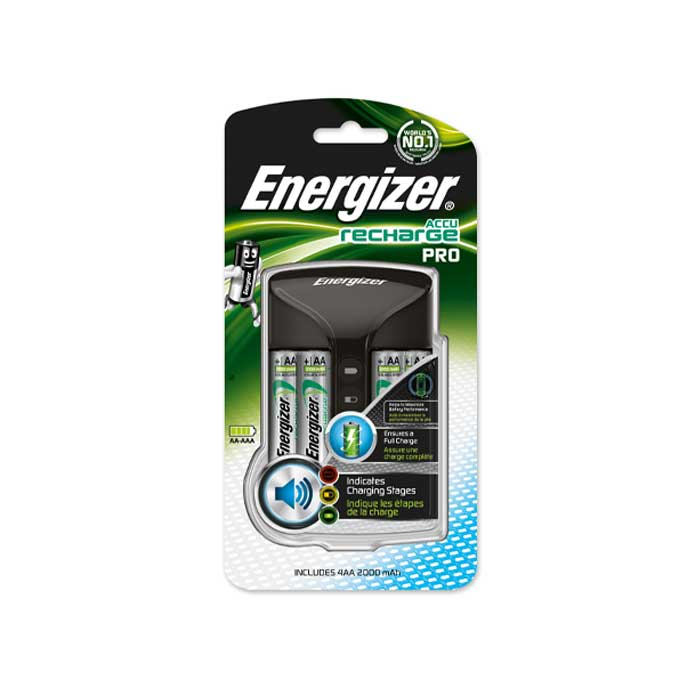 Energizer Pro Charger - Batteries Included