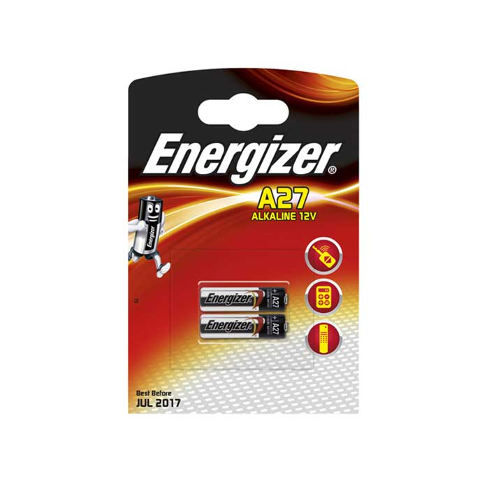 Energizer A27 Batteries - 2 Pack
