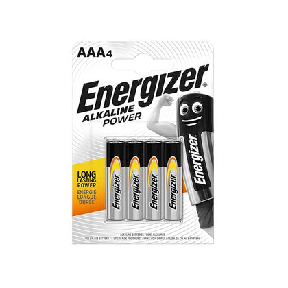 Energizer AAA Batteries - 4 Pack