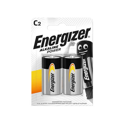 Energizer C Batteries - 2 Pack