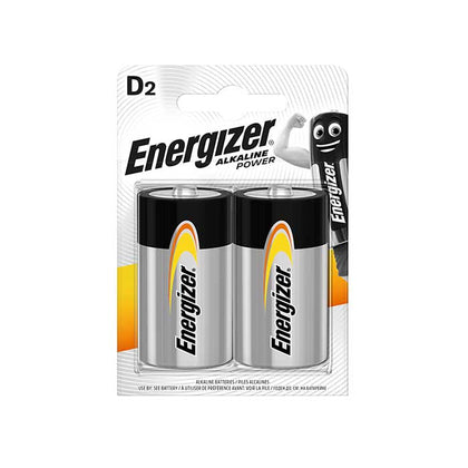 Energizer D Batteries - 2 Pack