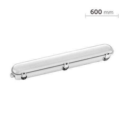 20W LED Tri-Proof Light - 2ft (600mm) Length - IP66 - 5000K - Standard