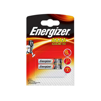 Energizer AAAA Batteries - 2 Pack