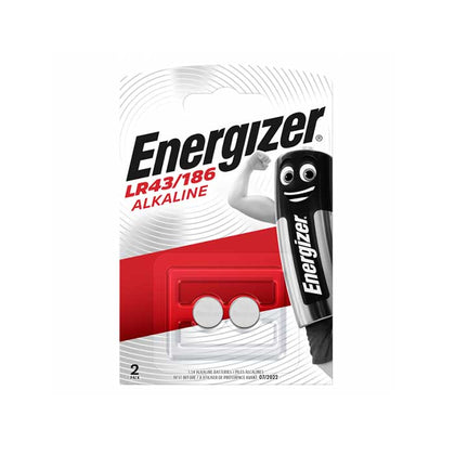 Energizer LR43 Batteries - 2 Pack