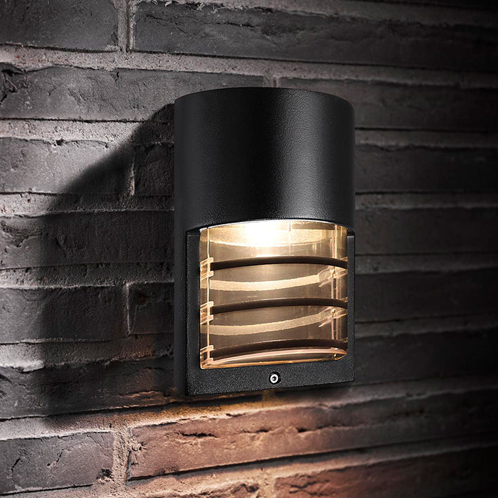 Nordlux Momento Outdoor Wall Light Fixture - Black