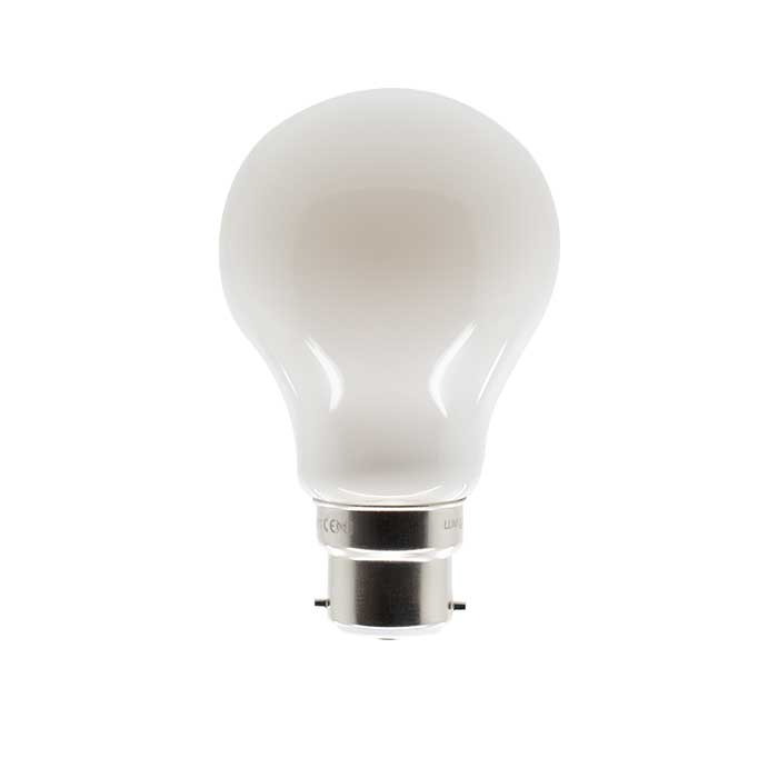 11W B22 GLS Filament LED - 1280lm - 6500K - Frosted - Non Dimmable