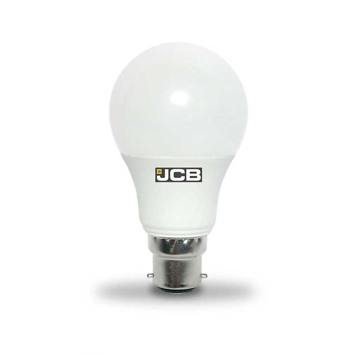 JCB 6W B22 GLS LED - 40W Replacement - 470lm - 3000K - Non Dimmable
