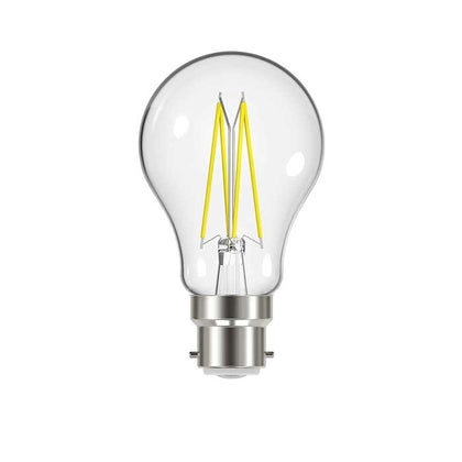 9W B22 GLS Filament LED - 1060lm - 4000K - Clear - Dimmable