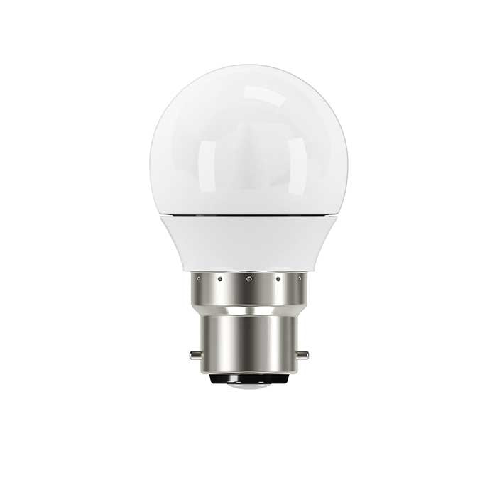 5W B22 Golf LED - 40W Replacement - 470lm - 4000K - Dimmable