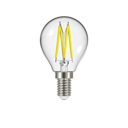 4.8W E14 Golf Filament LED - 450lm - 2700K - Clear - Dimmable