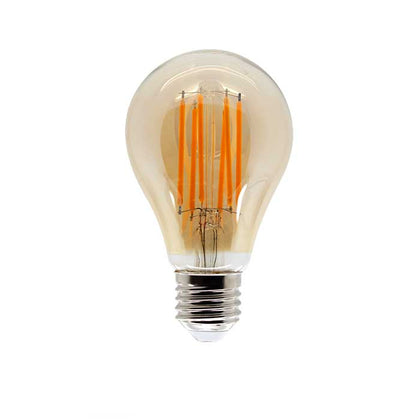 11W E27 GLS Filament LED - 970lm - 2200K - Amber - Non Dimmable