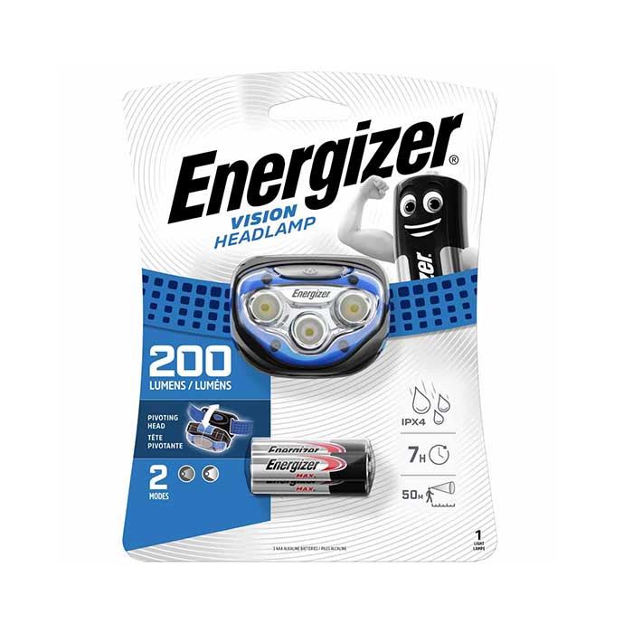 Energizer LED Vision Headlight - 30 metre