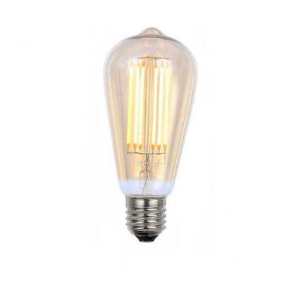 Inlight 5W E27 Tear Drop Filament LED - 450lm - 2200K - Clear - Dimmable