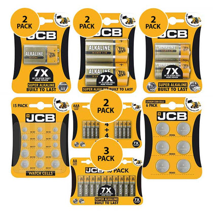 JCB Battery Bundle - 77 Pack