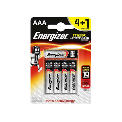 Energizer Max AAA Batteries - 5 Pack