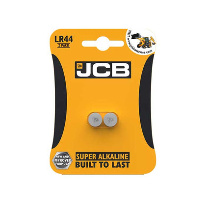 JCB LR44 Batteries - 2 Pack