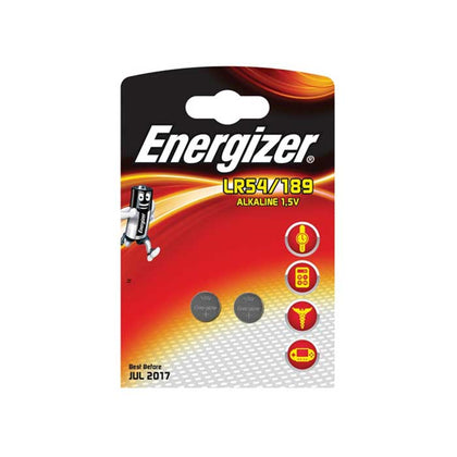 Energizer LR54 Batteries - 2 Pack