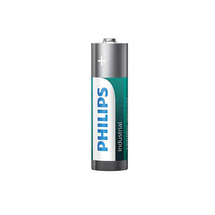 Philips Alkaline Industrial AA Batteries - 10 Pack