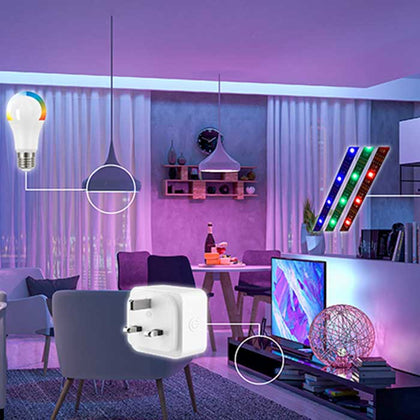 Energizer 5W GU10 Smart Spotlight - Colour Changing - WiFi Compatible